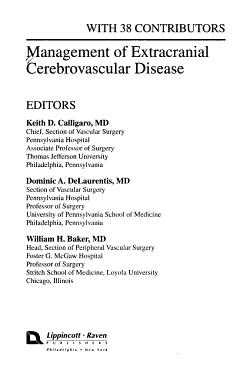 Management of Extracranial Cerebrovascular Disease PDF