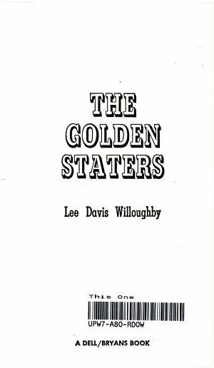 Golden Staters PDF