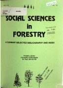 Social Sciences in Forestry PDF