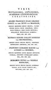 Elogium Tiberii Hemsterhusii: Vita Davidis Ruhnkenii