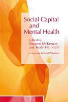 Social Capital and Mental Health PDF