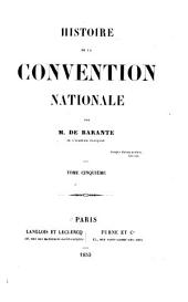 Histoire de la Convention nationale: Volume 5