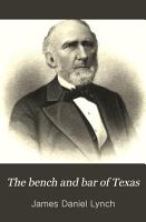 The Bench and Bar of Texas PDF