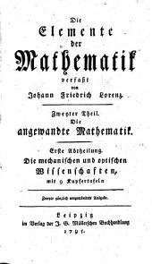 Die elemente der mathematik: Band 2
