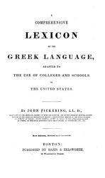 A Comprehensive Lexicon of the Greek Language PDF