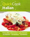 Quick Cook Italian