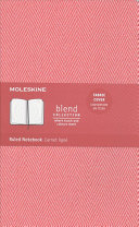 Moleskine Blend Collection Ruled Notebook Large Red