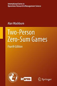 Two Person Zero Sum Games PDF