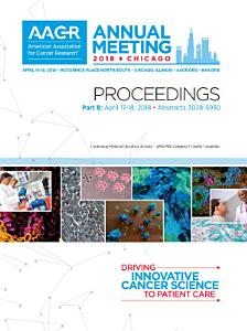 AACR 2018 Proceedings  Abstracts 3028 5930