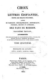 Écrites du Levant