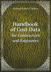 Handbook of Cost Data
