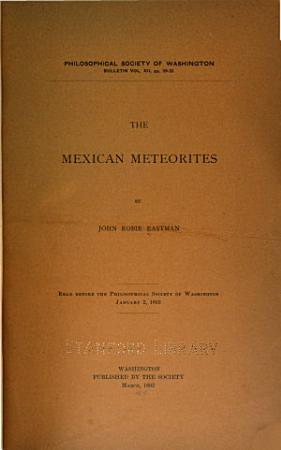 The Mexican Meteorites PDF