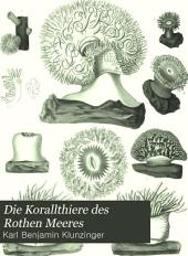 Die Korallthiere des Rothen Meeres: Th. Die Steinkorallen. 2. Abschnitt. Die Astraeaceen und Fungiaceen. 1879