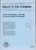 Airlines Passengers, are Their Consumer Rights Protected?