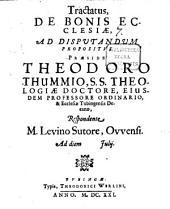 De Bonis Ecclesiae