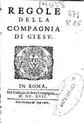 Regole della Compagnia di Giesu