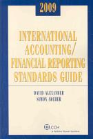 International Accounting Financial Reporting Standards Guide 2009 PDF