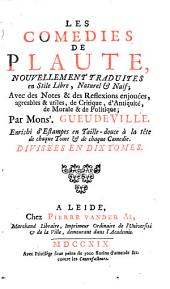 Les Comédies: Qui contient L'Amphitrion, Volume1