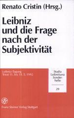 Leibniz und die Frage nach der Subjektivität