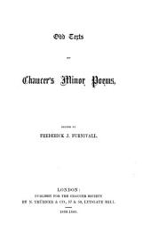 Odd Texts of Chaucer's Minor Poems