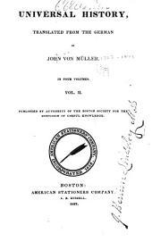 Universal history: Volume 2