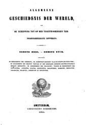 Algemeene geschiedenis der wereld: van de schepping tot op den tegenwoordigen tijd, oorspronkelijk bewerkt, Volume 1;Volume 1841