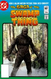 The Saga of the Swamp Thing (1982-) #2