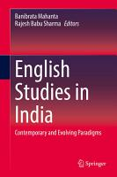 English Studies in India PDF