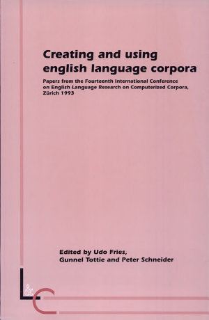 Creating and Using English Language Corpora