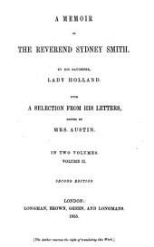 A memoir of the Rev. Sydney Smith: Volume 2
