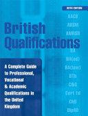 British Qualifications