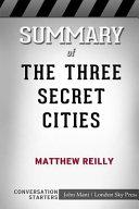 Summary of the Three Secret Cities (Jack West, Jr. Book 5): Conversation Starters