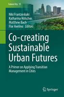 Co creating Sustainable Urban Futures PDF