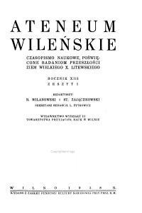 Ateneum Wilenskie PDF