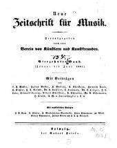 Neue Zeitschrift für Musik: das Magazin für neue Töne : gegr. 1834 von Robert Schumann, Band 14