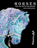 Horses Are Poetry in Motion Adult Coloring Book