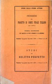 Programma del corso di diritto criminale: dettato nella R. Università di Pisa. Parte speciale, Volume 1
