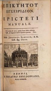 Epicteti Manuale, Cebetis Thebani Tabula, Prodici Hercules, et Theophrasti Characteres ethici