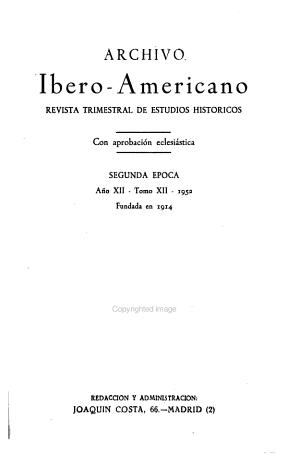 Archivo ibero americano