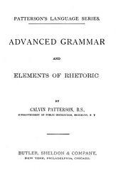 Advanced Grammar and Elements of Rhetoric: Book 2