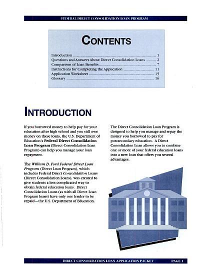 Direct Loans PDF