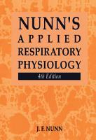 Nunn s Applied Respiratory Physiology PDF