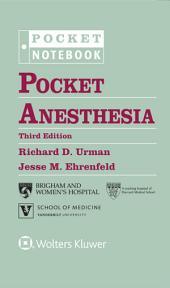 Pocket Anesthesia: Edition 3