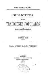 Cancionero popular gallego y en particular de la provincia de la Coruña: Volumen 7