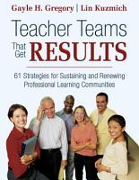 Teacher Teams That Get Results PDF