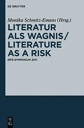 Literatur als Wagnis   Literature as a Risk PDF