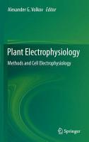 Plant Electrophysiology PDF