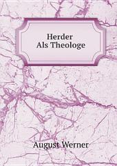 Herder Als Theologe