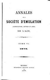 Annales: Volumes6à7