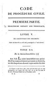 Code de procédure civile: et conférence de ce code avec les lois précédentes, Volume2